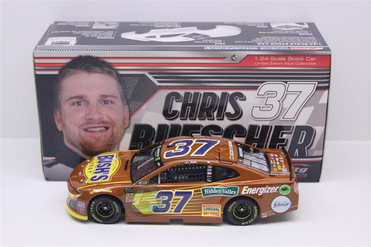#37 Chris Buescher 1//64-2018 Bush/'s Beans NASCAR Action Lionel RCCA Diecast