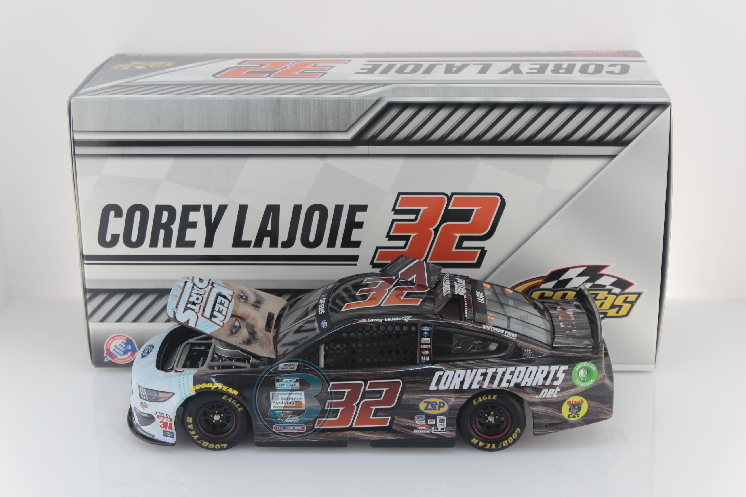 Lionel Racing Corey Lajoie 2020 Keen Parts Face Mask 1:64 Nascar Diecast
