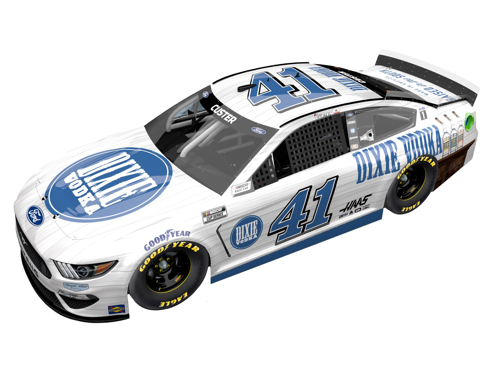 Justin Allgaier Autographed 2020 FFA Dover 8/23 Race Win 1