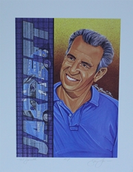 "1992 Ned Jarrett Artist Proof Sam Bass Print 19.5"" X 15.5"" 1992 Ned Jarrett Artist Proof Sam Bass Print 19.5"" X 15.5"""