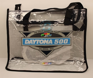 2012 Daytona International Speedway Clear Tote 2012 Daytona International Speedway Clear Tote, diecast collectibles, nascar collectibles, nascar apparel, diecast cars, die-cast, racing collectibles, nascar die cast, lionel nascar, lionel diecast, action diecast,racing collectibles, historical diecast,cooler