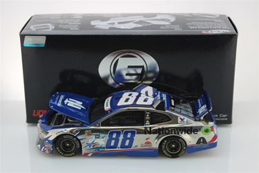 Alex Bowman 2018 Nationwide Patriotic 1:24 Elite Color Chrome Nascar Diecast Alex Bowman Nascar Diecast, 2018 Nascar Diecast, 1:24 Scale Diecast, pre order diecast, Elite, 2018 Hendricks