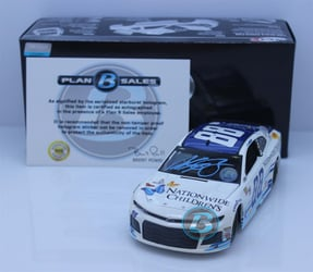 Alex Bowman Autographed w/ Paint Pen 2018 Nationwide Childrens Hospital 1:24 Elite Nascar Diecast Alex Bowman Nascar Diecast, 2018 Nascar Diecast, 1:24 Scale Diecast, pre order diecast, Elite, 2018 Hendricks