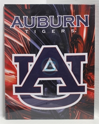 "Auburn University Canvas 11"" x 14"" Wall Hanging collectible canvas, ncaa licensed, officially licensed, collegiate collectible, university of"