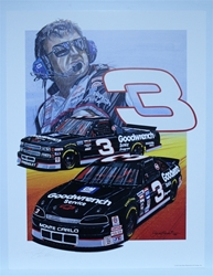 "Autographed Richard Childress ""RCR 1994"" Numbered Sam Bass 27"" X 21"" Print w/ COA Autographed Richard Childress ""RCR 1994"" Numbered Sam Bass 27"" X 21"" Print w/ COA"