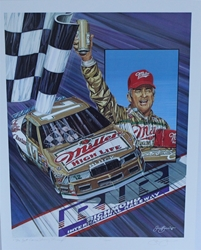 "Bobby Allison "" Rest Comes Shining Through ""  Numbered Sam Bass 23"" X 18"" Print Sam Bass, Bobby Allison, Coca~Cola, Monster Energy Cup Series, Winston Cup, Print, Bobby Allison "" Rest Comes Shining Through ""  Numbered Sam Bass 23"" X 18"" Print"