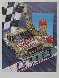 "Bobby Allison "" Rest Comes Shining Through ""  Sam Bass 23"" X 18"" Print Sam Bass, Bobby Allison, Coca~Cola, Monster Energy Cup Series, Winston Cup, Print, Bobby Allison "" Rest Comes Shining Through ""  Sam Bass 23"" X 18"" Print"