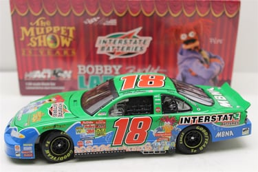 Bobby Labonte 2002 Interstate Batteries Muppets 25th Anniversary 1:24 RCCA Club Car Bank Nascar Diecast Bobby Labonte nascar diecast, diecast collectibles, nascar collectibles, nascar apparel, diecast cars, die-cast, racing collectibles, nascar die cast, lionel nascar, lionel diecast, action diecast, university of racing diecast, nhra diecast, nhra die cast, racing collectibles, historical diecast, nascar hat, nascar jacket, nascar shirt