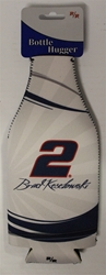 Brad Keselowski # 2 Miller Lite Bottle Coozie Brad Keselowski nascar diecast, diecast collectibles, nascar collectibles, nascar apparel, diecast cars, die-cast, racing collectibles, nascar die cast, lionel nascar, lionel diecast, action diecast,racing collectibles, historical diecast,coozie,hugger