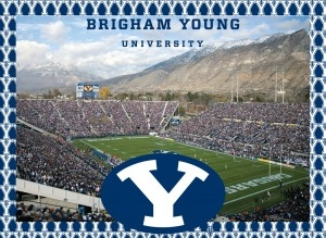 Brigham Young University Cougars 500 Piece Jigsaw Adult Puzzle Brigham Young University Cougars 500 Piece Jigsaw Adult Puzzle