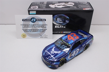 Bubba Wallace Autographed Paint Pen 2018 Air Force 1:24 Elite Nascar Diecast Bubba Wallace Nascar Diecast, 2018 Nascar Diecast, 1:24 Scale Diecast, pre order diecast, Elite, 2018 Richard Petty Motorsports