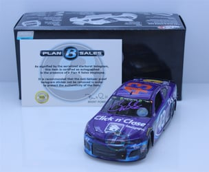Bubba Wallace Autographed w/ Paint Pen 2018 Click n Close Daytona Race Version 1:24 Elite Nascar Diecast Bubba Wallace Nascar Diecast, 2018 Nascar Diecast, 1:24 Scale Diecast, pre order diecast, Elite, 2018 Richard Petty Motorsports