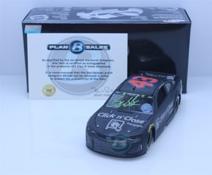 Bubba Wallace Autographed w/ Paint Pen 2018 Click n Close Test Car 1:24 Elite Nascar Diecast Bubba Wallace Nascar Diecast, 2018 Nascar Diecast, 1:24 Scale Diecast, pre order diecast, Elite, 2018 Richard Petty Motorsports