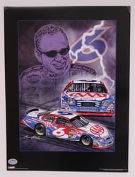 "Case of 25 - Mark Martin ""Knights of Thunder"" 18"" X 24"" Original 2006 Sam Bass Poster Sam Bass, Mark Martin, 2006, Monster Energy Cup Series, Winston Cup,Poster"