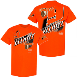 Chase Elliott Hooters Orange Lifestyle Adult Tee Chase Elliott, shirt, nascar, hooters