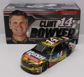 Clint Bowyer 2018 Rush Truck Centers 1:24 Color Chrome Nascar Diecast Clint Bowyer Nascar Diecast,2018 Nascar Diecast,1:24 Scale Diecast, pre order diecast