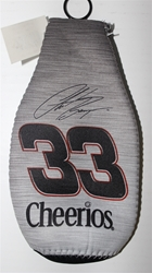 Clint Bowyer # 33 Grey RCR Cheerios Bottle Coozie Clint Boyer nascar diecast, diecast collectibles, nascar collectibles, nascar apparel, diecast cars, die-cast, racing collectibles, nascar die cast, lionel nascar, lionel diecast, action diecast,racing collectibles, historical diecast,coozie,hugger