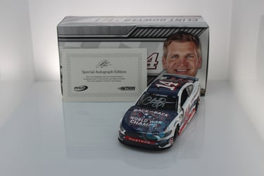Clint Bowyer Autographed 2020 Barstool Sports Patriotic 1:24 Nascar Diecast Clint Bowyer Nascar Diecast,2020 Nascar Diecast,1:24 Scale Diecast,pre order diecast