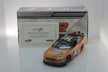 Corey LaJoie Autographed 2020 Schluter-Systems 1:24 Nascar Diecast Corey LaJoie Nascar Diecast,2020 Nascar Diecast,1:24 Scale Diecast,pre order diecast