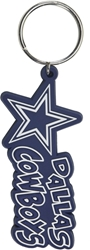 DALLAS COWBOYS IMPULSE KEYCHAIN nfl, magnet, lanyard, licensed, keychain