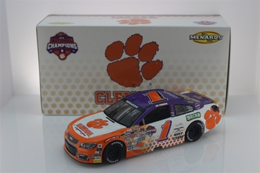 Ed Pompa 2019 Clemson University National Champions 1:24 ARCA Diecast Ed Pompa Nascar Diecast,2019 Nascar Diecast,1:24 Scale Diecast,pre order diecast