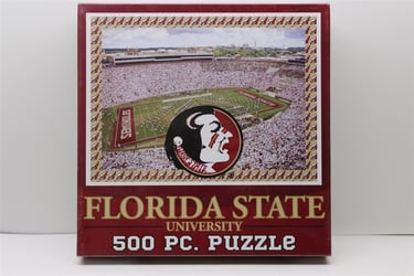 Florida State University 500 Piece Jigsaw Adult Puzzle Florida State University 500 Piece Jigsaw Adult Puzzle
