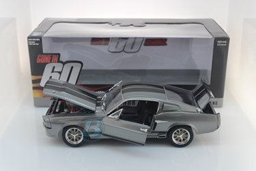 "Gone in Sixty Seconds (2000) 1:18 - 1967 Ford Mustang ""Eleanor"" Gone in Sixty Seconds, Movie Diecast, 1:18 Scale, 1967 Ford Mustang Eleanor"