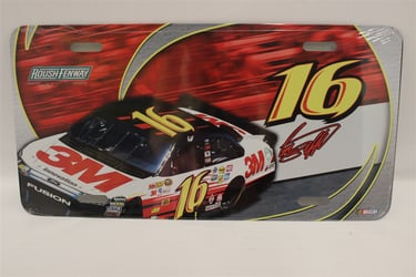 Greg Biffle #16 3M #16 Car License Plate Greg Biffle ,#16 Car,License Plate,R and R Imports,R&R