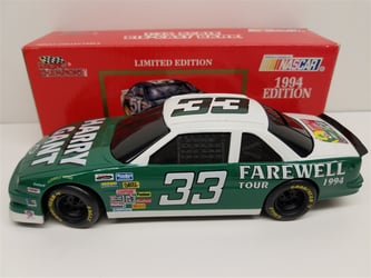 Harry Gant 1994 #33 Farewell Tour Racing Champions 1:24 Nascar Diecast Bank Harry Gant nascar diecast, diecast collectibles, nascar collectibles, nascar apparel, diecast cars, die-cast, racing collectibles, nascar die cast, lionel nascar, lionel diecast, action diecast, university of racing diecast, nhra diecast, nhra die cast, racing collectibles, historical diecast, nascar hat, nascar jacket, nascar shirt