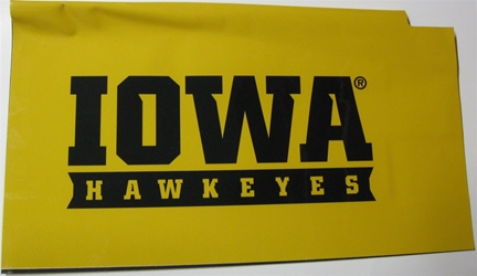 Iowa Hawkeyes Magnetic Mailbox Cover Iowa Hawkeyes Magnetic Mailbox Cover