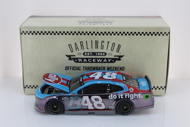 Jimmie Johnson 2020 Ally Darlington Throwback 1:24 Color Chrome Nascar Diecast Jimmie Johnson, Nascar Diecast,2020 Nascar Diecast,1:24 Scale Diecast, pre order diecast