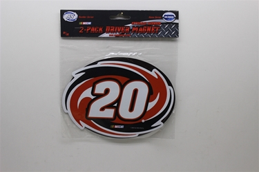 Joey Logano #20 Home Depot Magnet- 2 Pack Joey Logano #20 Home Depot Magnet- 2 Pack