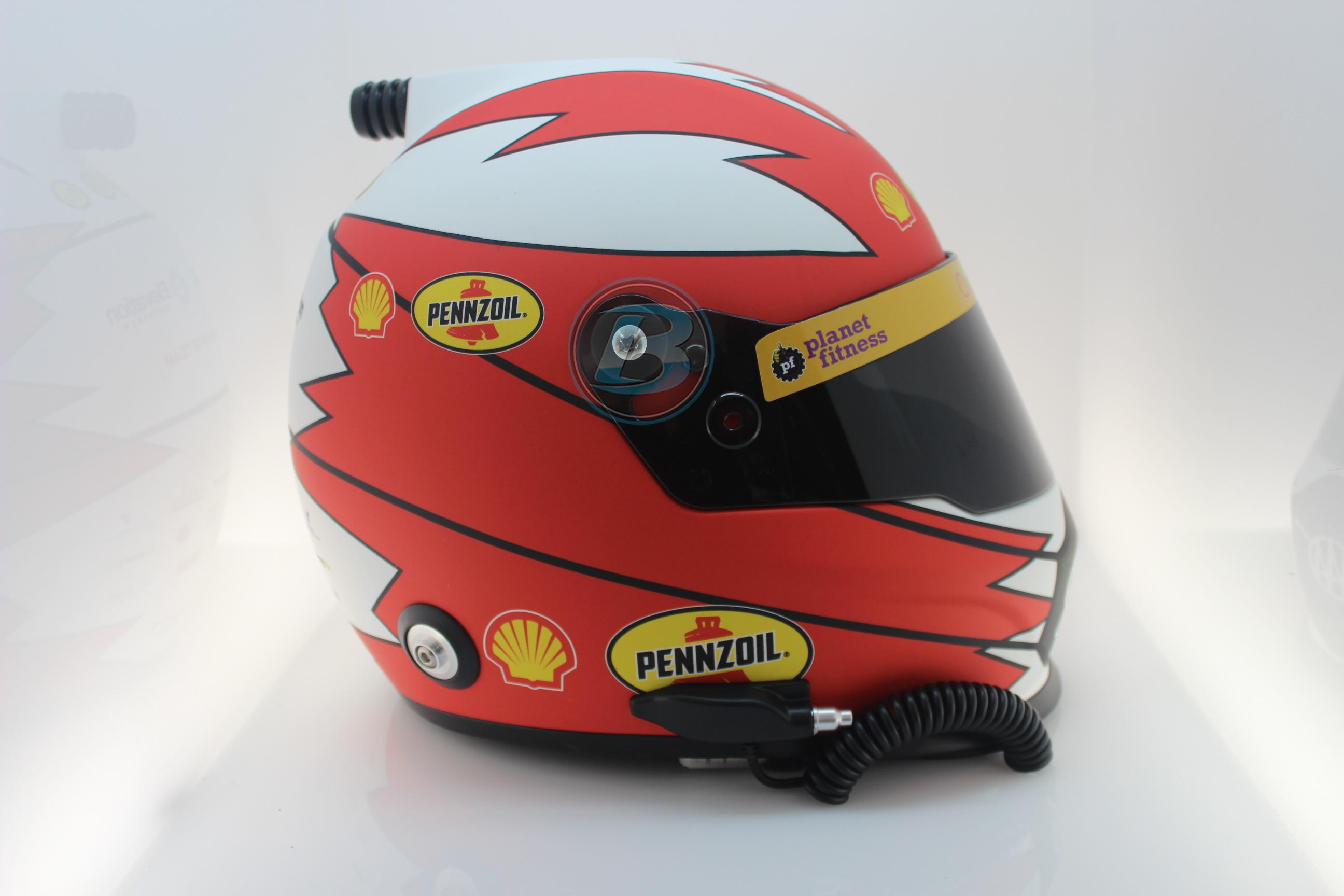 2019 Joey Logano Shell Pennzoil Mini Replica Helmet