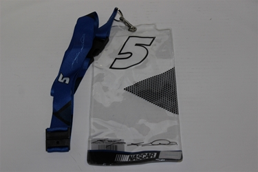 Kasey Kahne #5 Clear Top  Credential Holder and Lanyard Kasey Kahne nascar diecast, diecast collectibles, nascar collectibles, nascar apparel, diecast cars, die-cast, racing collectibles, nascar die cast, lionel nascar, lionel diecast, action diecast, university of racing diecast, nhra diecast, nhra die cast, racing collectibles, historical diecast, nascar hat, nascar jacket, nascar shirt, R and R