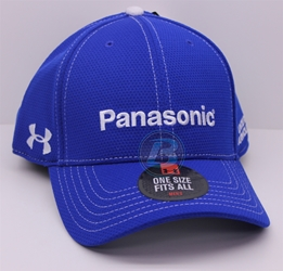 Kasey Kahne # 5 Panasonic OSFM Blue Under Armour Hat JRM,Kasey Kahne,Earnhardt,Nationwide,JRM,Under Armour,HAT