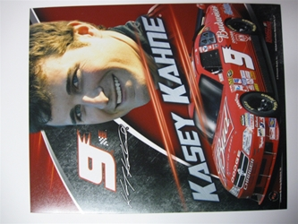 Kasey Kahne #9 Budweiser Charger 8 X 10 Photo #01 Kasey Kahne #9 Budweiser Charger 8 X 10 Photo