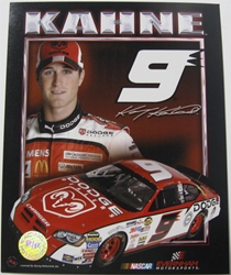 Kasey Kahne #9 Dodge 8 X 10 Photo #05 Kasey Kahne #9 Budweiser 8 X 10 Photo