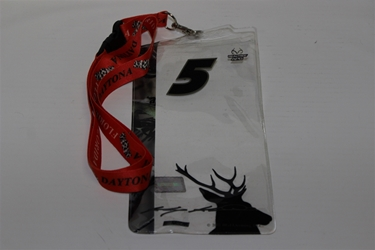 Kasey Kahne #X5 Camo Real Tree/ Deer Head Credential Holder and Daytona Lanyard Kasey Kahne nascar diecast, diecast collectibles, nascar collectibles, nascar apparel, diecast cars, die-cast, racing collectibles, nascar die cast, lionel nascar, lionel diecast, action diecast, university of racing diecast, nhra diecast, nhra die cast, racing collectibles, historical diecast, nascar hat, nascar jacket, nascar shirt, R and R