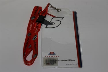 Kasey Kahne #X5 Red Whit and Blue Credential Holder and Red Daytona Lanyard Kasey Kahne nascar diecast, diecast collectibles, nascar collectibles, nascar apparel, diecast cars, die-cast, racing collectibles, nascar die cast, lionel nascar, lionel diecast, action diecast, university of racing diecast, nhra diecast, nhra die cast, racing collectibles, historical diecast, nascar hat, nascar jacket, nascar shirt, R and R