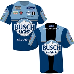 Kevin Harvick Busch Light Sublimated Uniform Adult Tee Kevin Harvick, shirt, tee, Checkered Flag Sports