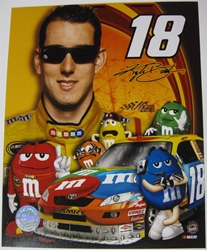 Kyle Busch #18 M&Ms 8 X 10 Photo #02 Kyle Busch #18 M&Ms 8 X 10 Photo