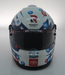 Kyle Busch 2020 M&M Heroes MINI Replica Helmet Kyle Busch 2020 M&M Heroess MINI Replica Helmet