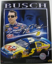 Kyle Busch #5 Kelloggs 8 X 10 Photo #04 Kyle Busch #5 Kelloggs 8 X 10 Photo