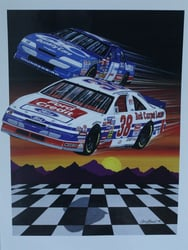 "Lake Speed And Elton Sawyer 1994 "" Ford Motor Credit ""Sam Bass Poster 26"" X 19.5 Lake Speed And Elton Sawyer 1994 "" Ford Motor Credit ""Sam Bass Poster 26"" X 19.5"