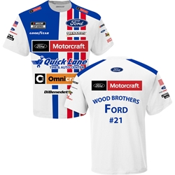 Matt DiBenedetto Ford Motorcraft Sublimated Uniform Adult Tee Matt DiBenedetto, shirt, tee, Checkered Flag Sports