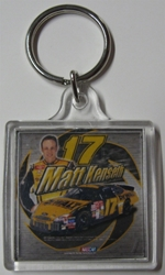 Matt Kenseth #17 Dewalt Plastic Key Chain Matt Kenseth #17 Dewalt Plastic Key Chain