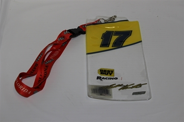 Matt Kenseth #17 Yellow Top Credential Holder and Daytona Lanyard Matt Kenseth nascar diecast, diecast collectibles, nascar collectibles, nascar apparel, diecast cars, die-cast, racing collectibles, nascar die cast, lionel nascar, lionel diecast, action diecast, university of racing diecast, nhra diecast, nhra die cast, racing collectibles, historical diecast, nascar hat, nascar jacket, nascar shirt, R and R