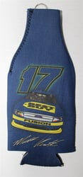Matt Kenseth # 17 Yellow and Blue Best Buy Bottle Coozie Matt Kenseth nascar diecast, diecast collectibles, nascar collectibles, nascar apparel, diecast cars, die-cast, racing collectibles, nascar die cast, lionel nascar, lionel diecast, action diecast,racing collectibles, historical diecast,coozie,hugger