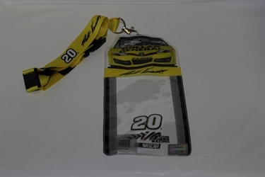 Matt Kenseth #20 Car Top Credential Holder and Lanyard Matt Kenseth nascar diecast, diecast collectibles, nascar collectibles, nascar apparel, diecast cars, die-cast, racing collectibles, nascar die cast, lionel nascar, lionel diecast, action diecast, university of racing diecast, nhra diecast, nhra die cast, racing collectibles, historical diecast, nascar hat, nascar jacket, nascar shirt, R and R