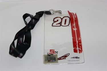 Matt Kenseth #20 Joe Gibbs Racing Credential Holder and Lanyard Matt Kenseth nascar diecast, diecast collectibles, nascar collectibles, nascar apparel, diecast cars, die-cast, racing collectibles, nascar die cast, lionel nascar, lionel diecast, action diecast, university of racing diecast, nhra diecast, nhra die cast, racing collectibles, historical diecast, nascar hat, nascar jacket, nascar shirt, R and R
